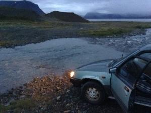 Ipad vor Island 090