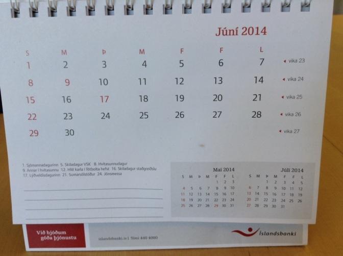 Kleine Kalenderkunde